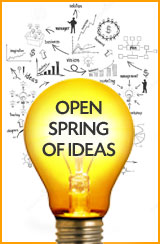 open spring of ideas